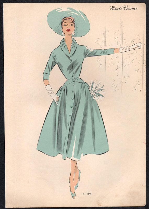 Pin On Womens 1950s Fashions