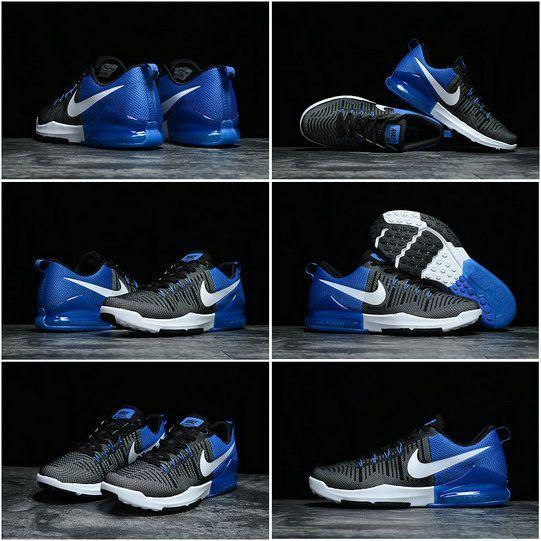 19530a51a153 ... cheap shoes 2018 by david20180514. Fashion Nike Mens Zoom Train Action  Cross Trainer 2017 Hyper Blue Black White Nike Zoom Train