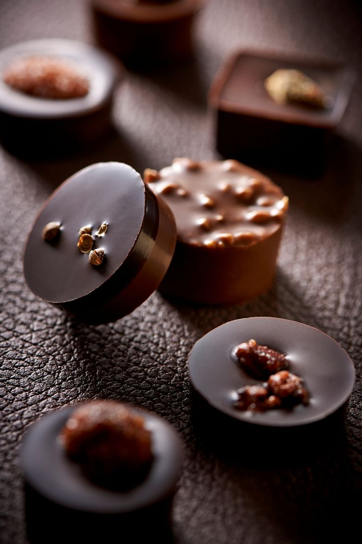 Chocolats au praliné Pascal Caffet