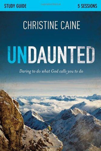 Undaunted Study Guide: Daring to Do What God Calls You to Do by Christine Caine. Save 20 Off!. $8.79. Publisher: Zondervan; Stg edition (September 11, 2012). Reading level: Ages 18 and up