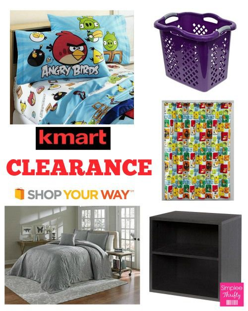 Kmart Clearance Deals Kmart Clearance Deals   Here are some Kmart Clearance Deals that we came across so far today! We will up date this post as we find new deals so bookmark this link or be sure to check back. Not familiar with Shop Your Way Rewards Program take a glance at 6 Benefits of being a Shop Your Way ...