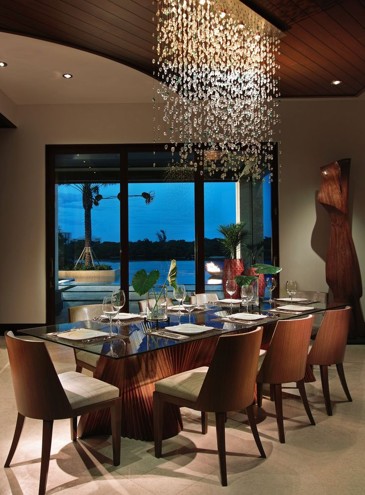 Modern Dining Room Sets For Your Home Design Chandelier IdeasModern