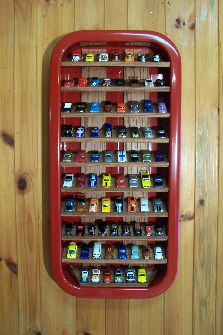 Make Toy Car Holder : Best ideas about hot wheels display on pinterest
