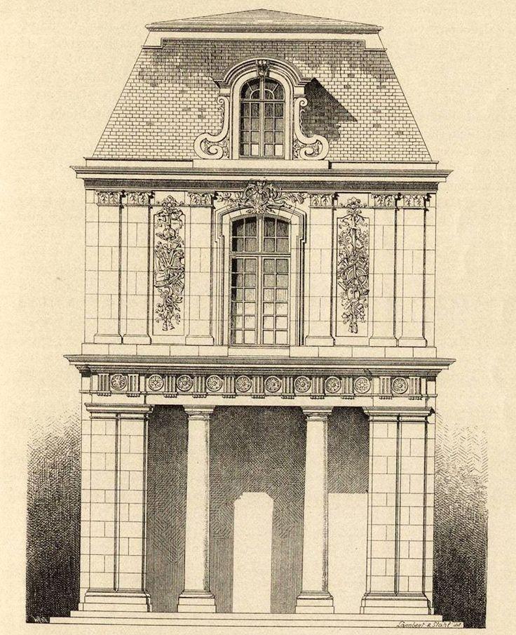 778 besten architecture france germany bilder auf for Klassische architektur