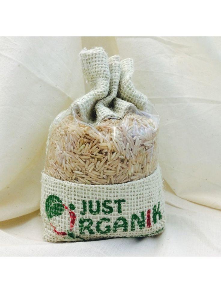 Brown Rice Basmati - #vega #whole get here: http://www.vegalyfe.com/rice-chawal-293.html