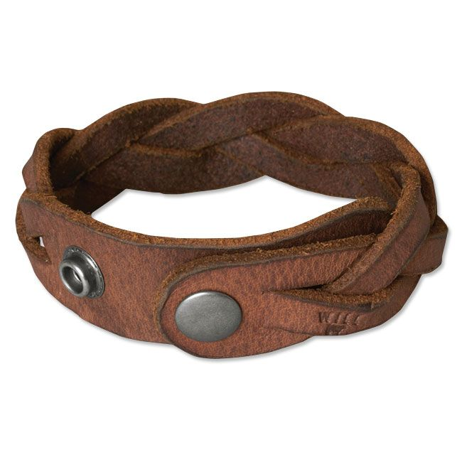 Just found this Braided Leather Bracelet - Wide Braided-Leather Bracelet -- Orvis on Orvis.com!