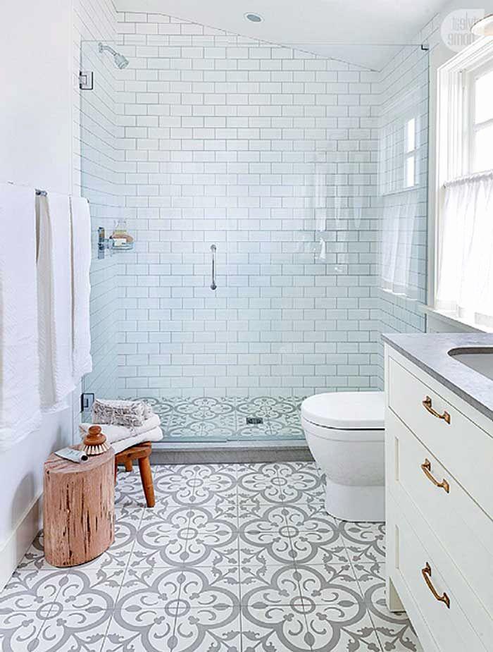 Badezimmer Ideen Mit Ornament Fliesen Grau Elegant Badezimmer Bodenfliesen  Fastarticlemarketing