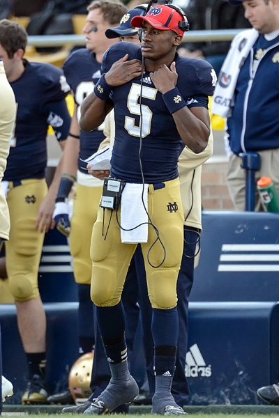 Golson gets chance at defining moment Notre dame