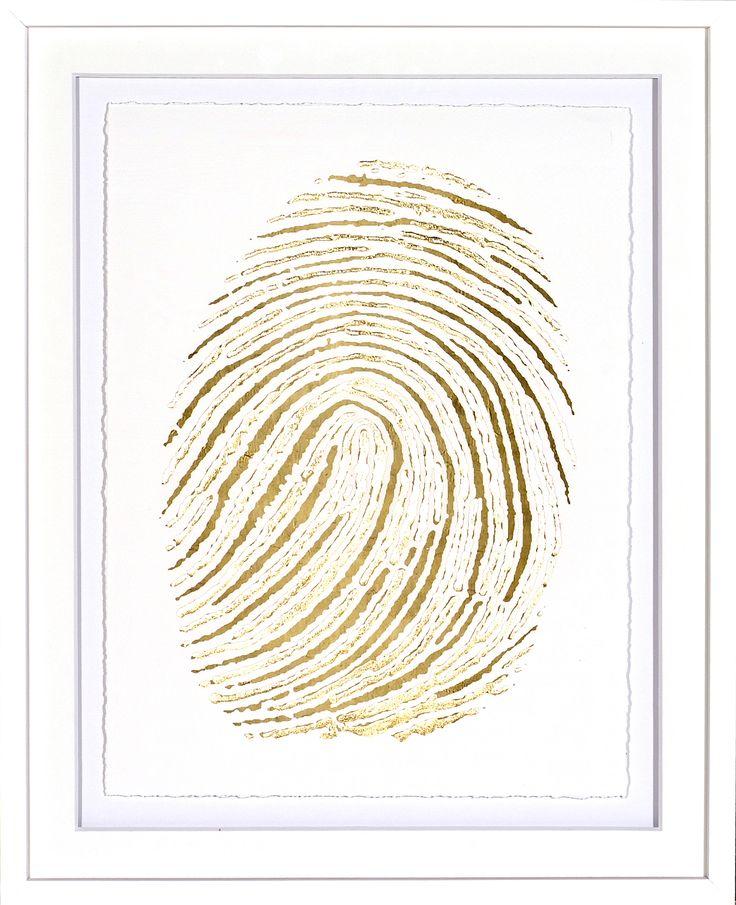 Gold Finger Print II