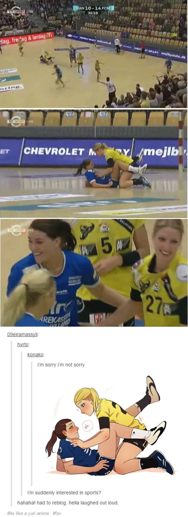 Sports   Yuri   Know Your Meme