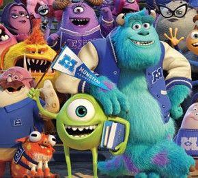 """""""Die Monster Uni"""" - Kino-Tipp - Die Vorgeschichte von """"Die Monster AG"""": Mike Glotzkowski und James P. Sullivan müssen die Uni bestehen."""