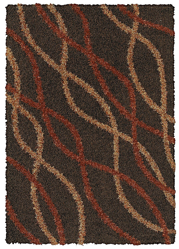 Area Rug In Style Intertwine