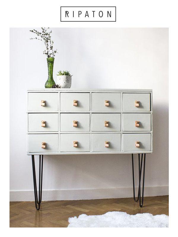 19 best Meubles de rangement images on Pinterest Diy room decor - meuble de rangement avec tiroir
