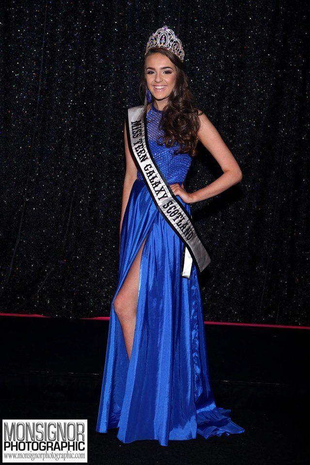Miss Teen Galaxy International Samantha Sewell