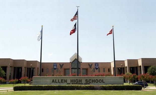 ALLEN ISD- serves almost all of the eduction needs of the city with small portions extending into Lovejoy, McKinney and Plano IDS. Allen also hosts a campus for the Collin County Community College District, which is loated inside High School.High School