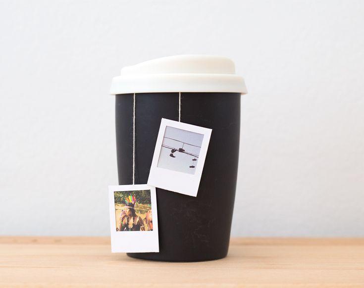 diy polaroid frame tea bag tags