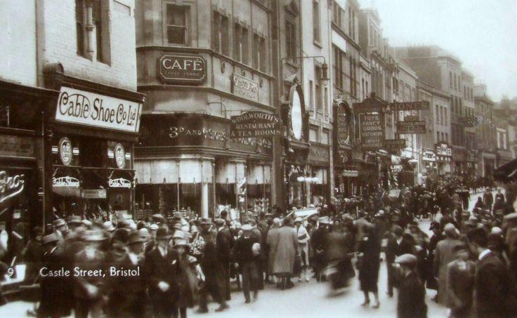Castle Street Bristol 1928.