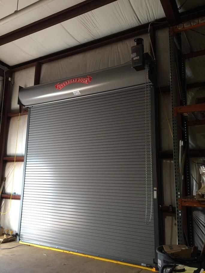 Metal Rolling Loading Dock Doors Fix Slats Nj Nyc In 2020 Roll Up Doors Roll Up Garage Door Garage Door Design
