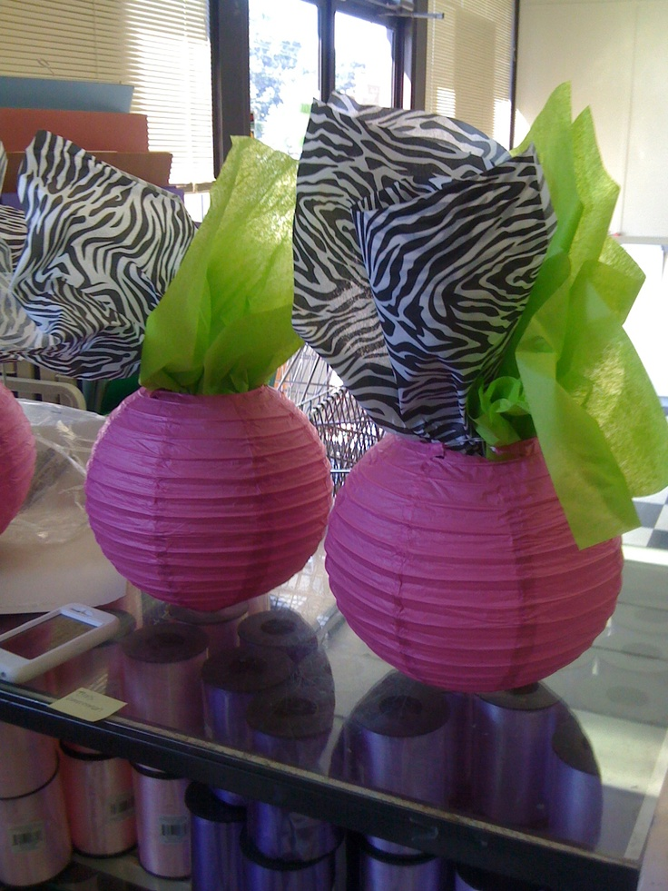 Add Tissue Paper To Paper Lanterns Hang Or Use As A Centerpiece Easy Easy Easy The Paper