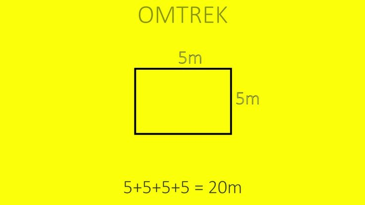 Oppervlakte en omtrek en inhoud berekenen van een rechthoek en kubus. (H5 kern…