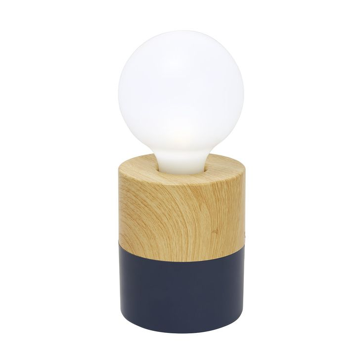 Blue Base Globe Night Light | Kmart