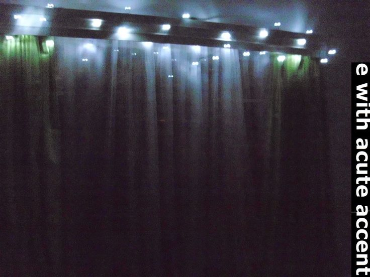 e with acute accent: Fairy light Project