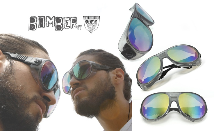 BOMBER* Gafa Barba Larga ▼