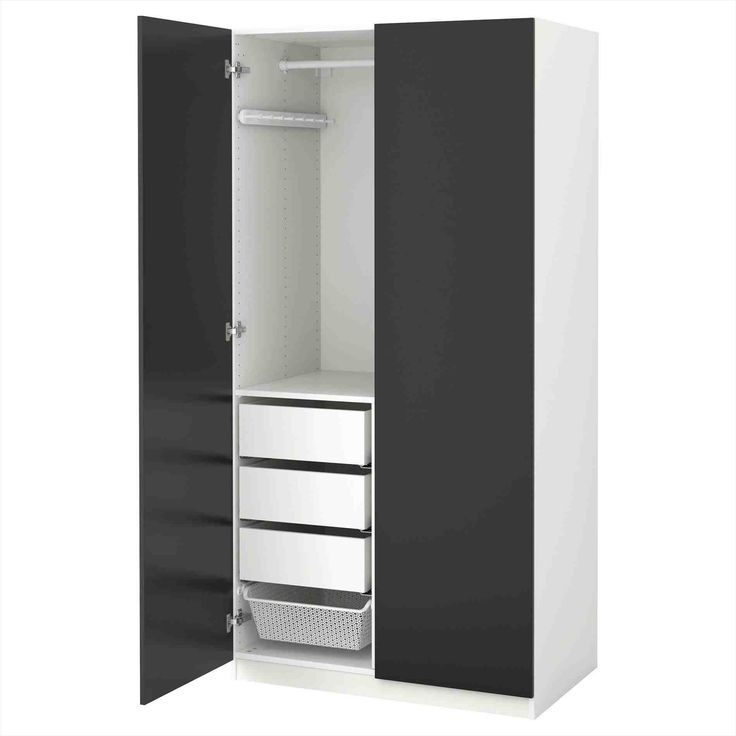New narrow wardrobe with drawers at temasistemi.net