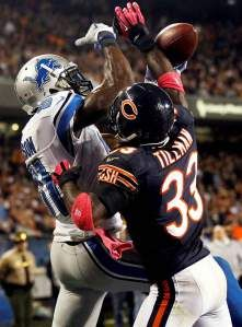 Talk about Heart!  Charles Tillman, Chicago Bears CB #33 Gives back! Care Bear off the field.  Walter Payton NFL Man of the Year