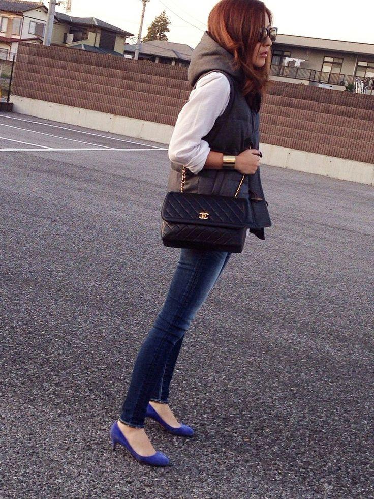 mayumiさんのショルダーバッグ「CHANEL CHANELマトラッセ」を使ったコーディネート