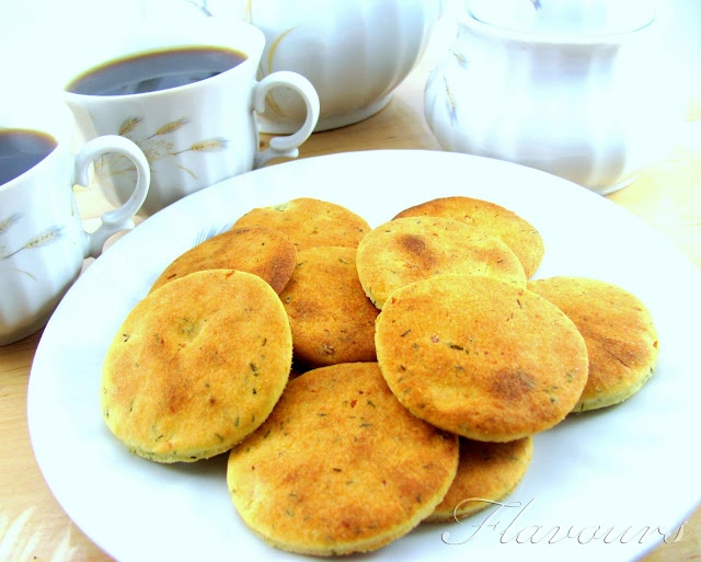 Dill and Potato Biscuits