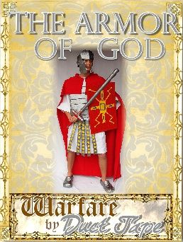 The Armor Of God Duct Tape Project Book CD This Would Be Fun For All My Kids A Good Way To Memorize