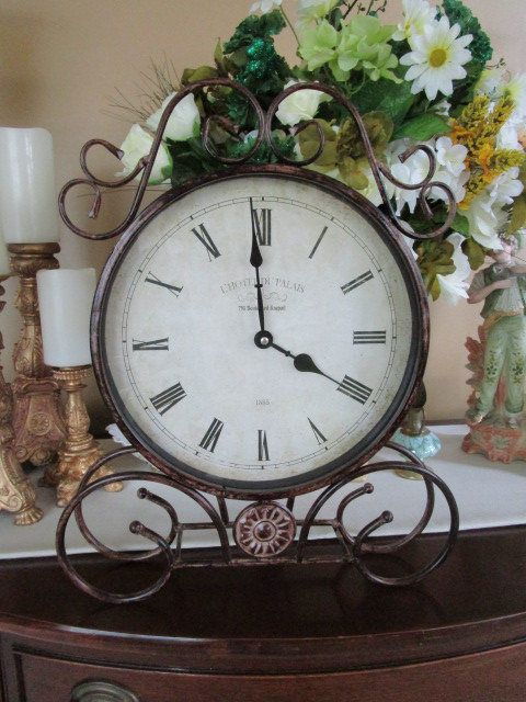French Clock by RomanceOfFrance on Etsy