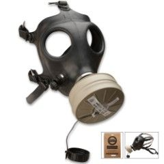 Israeli Gas Mask With Filter
