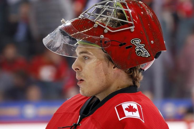 Jonas Hiller @ Calgary Flames