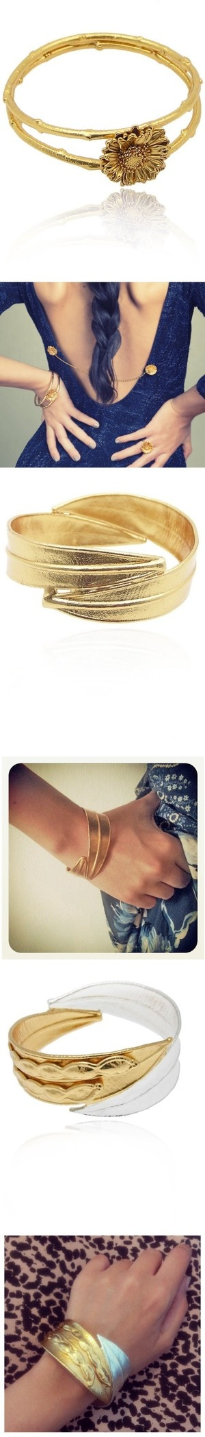 """Wearing Thallo bracelets 3"" by thallo on Polyvore"