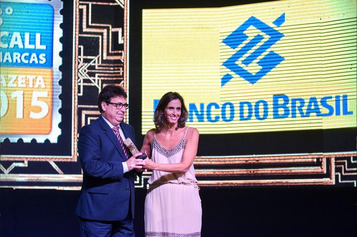 Já na categoria #Bancos, o Banco do Brasil levou o 1º lugar entre os bancos mais lembrados do estado. #recalldemarcas2015 #crossmediarecall