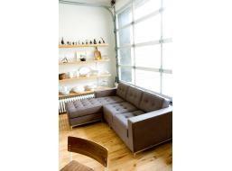 Gus Jane Bi-Sectional Sofa