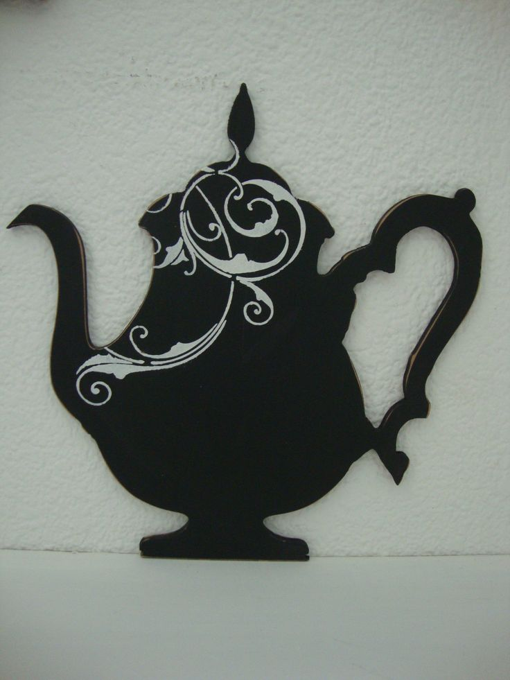 Decorative Kettle - Fridge Magnet - Black Chalk Board for important notes @ R65 each