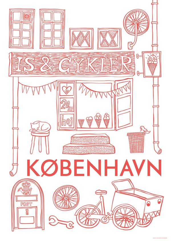 Human Empire Shop City Poster Contest: Kobenhavn by Karin Lindeskov Andersen