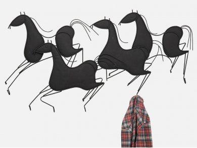 Wieszak Wild Horses — Wieszaki ścienne — KARE® Design