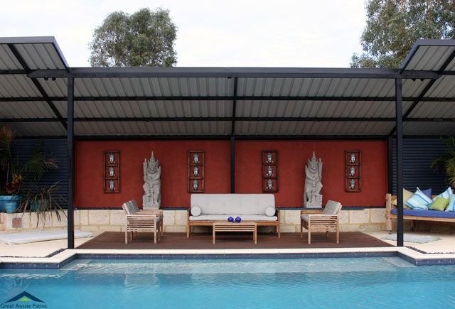Skillion Roof Patios Amp Flat Roof Patios Perth Pergolas