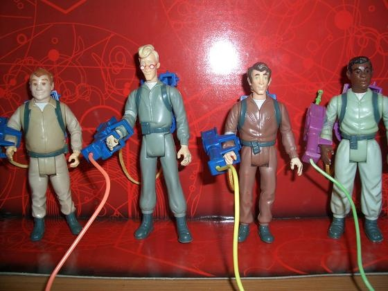 The Real Ghostbusters toys