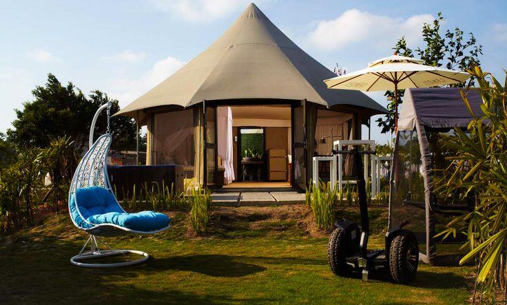 Experience glamping at The Canopi Resort, Treasure Bay Bintan
