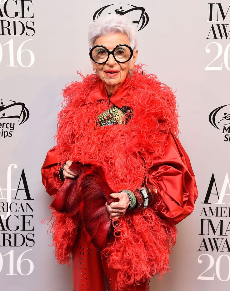 The 94-year-old fashion maverick won big at this year's American Image Awards.