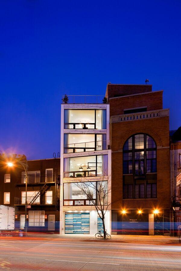 25 best ideas about modern townhouse on pinterest for Teich design west village