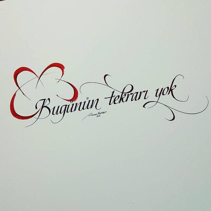 #calligraphy#kaligrafi#typography#tipografi#graphic#graphicdesign#grafiktasarim#guzelyazi#guzelsozler#kafkaokur#turkey#turkiye#istanbul#pen#pencil#pilotparallelpen#red#ink#tattoo (Maltepe, Istanbul)