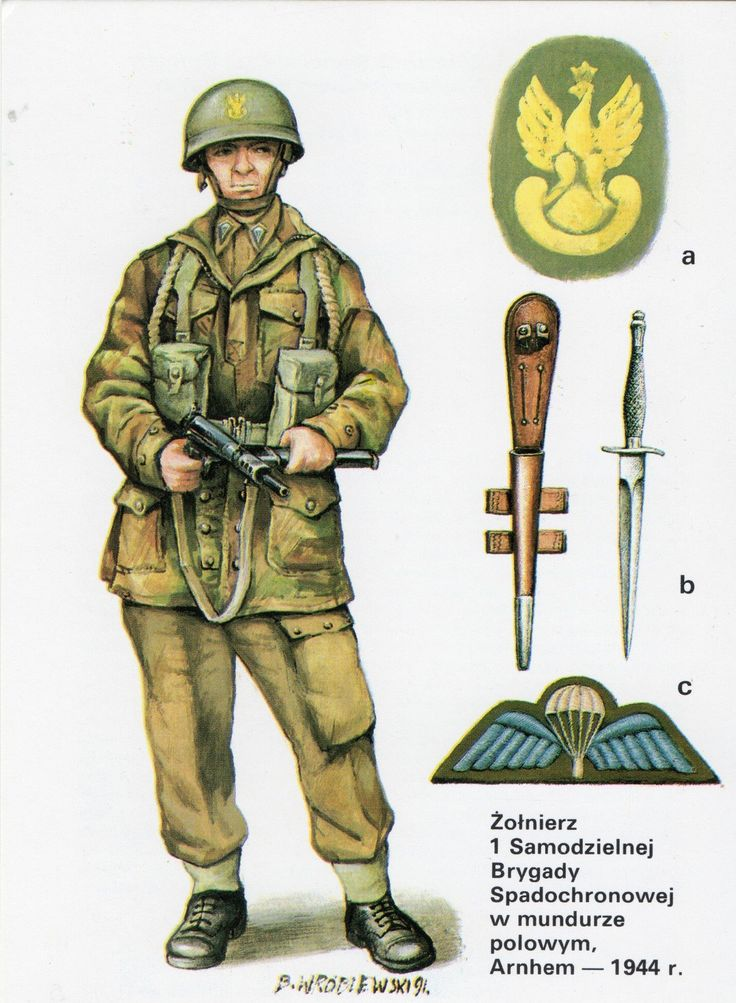 Polish Paratrooper.
