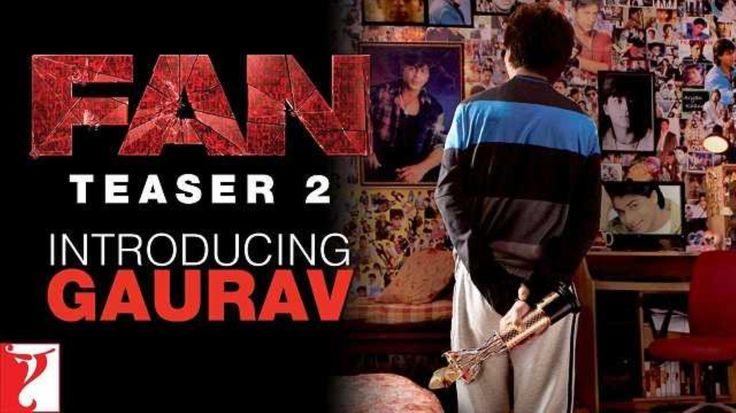 शाहरूख की फिल्म 'फैन' का शानदार टीजर हुआ रिलीज आगे पढ़ें:-goo.gl/ZNwpIz #Bollywood #Video #Srk #Kingkhan