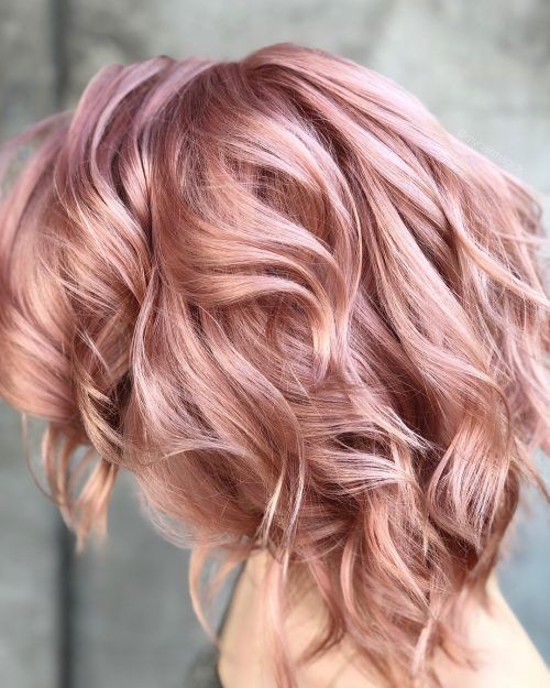 """Top 19 Rose Gold Hair Color Ideas Trending in 2019 